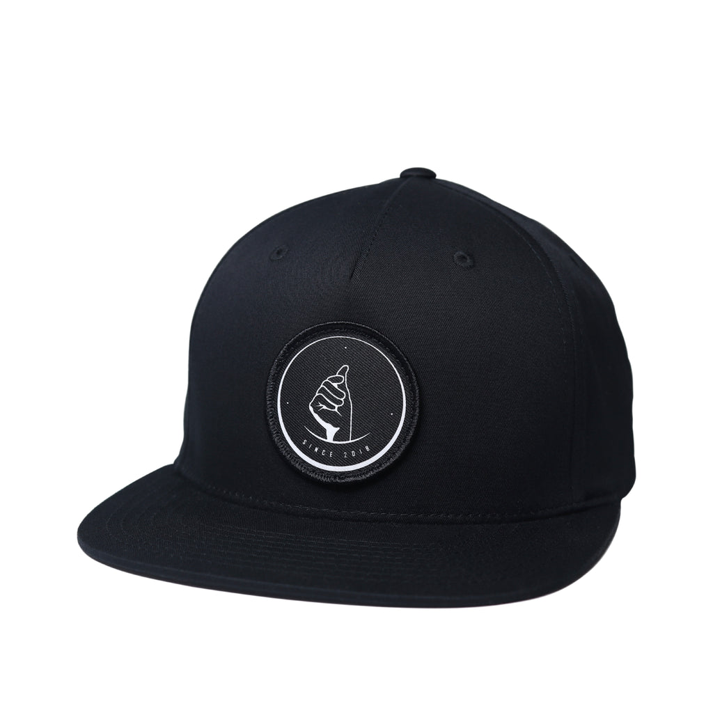 MoneyDude Black Snapback Hat