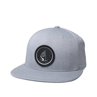 MoneyDude Heather/Grey Snapback Hat