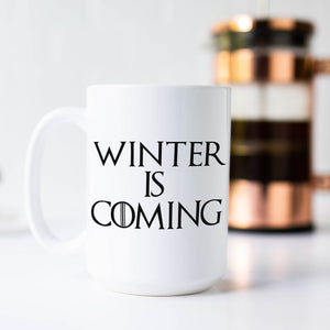 Winter is Coming Game of Thrones Coffee Mug