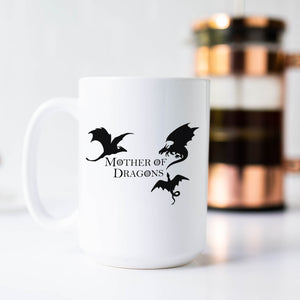 Mother Of Dragons Khaleesi Game of Thrones Coffee Mug