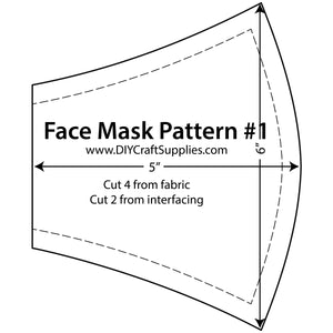 Face Mask Acrylic Template