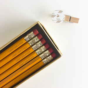 I Don't Give a Fuck Pencils