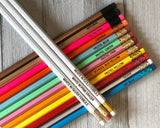 Friends TV Show Engraved Pencil Set