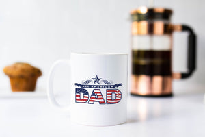 All American Dad Fathers Day Mug, Dad Mug