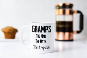 Gramps The Man The Myth The Legend Coffee Mug