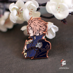 Cloud Strife ✦ FFVII Enamel Pins
