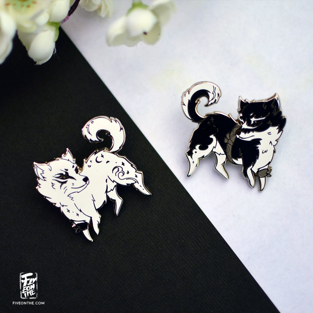 Umbra & Pryna ~Astral Messenger ~ ✦ FFXV Enamel Pin Set