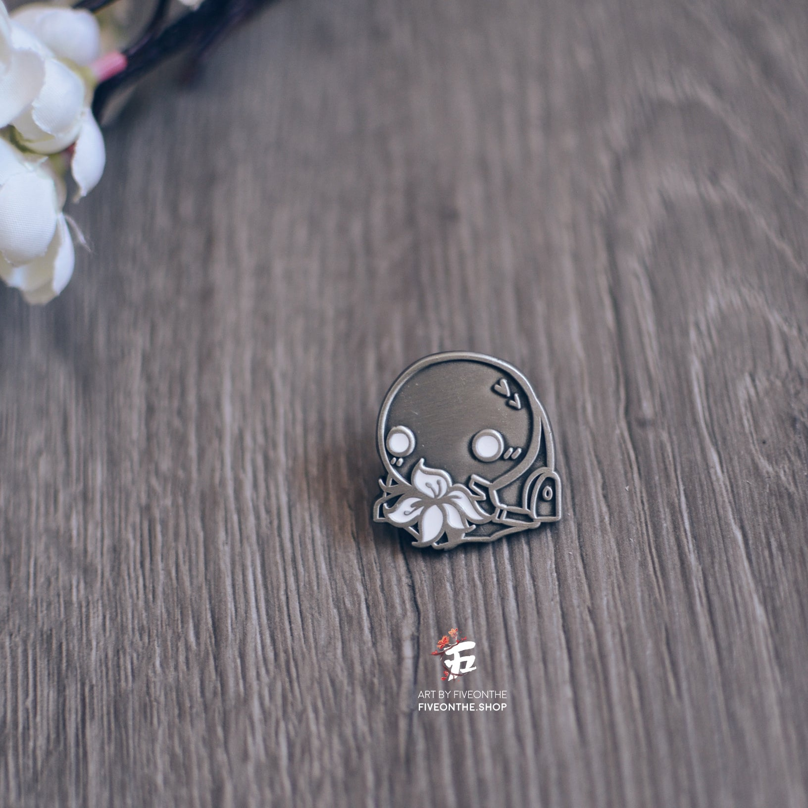Machine Lifeform ✦ NieR Automata Enamel Pin