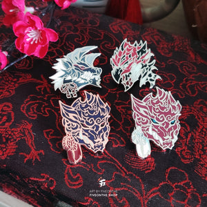 Rathalos ✦ Monster Hunter Enamel Pin