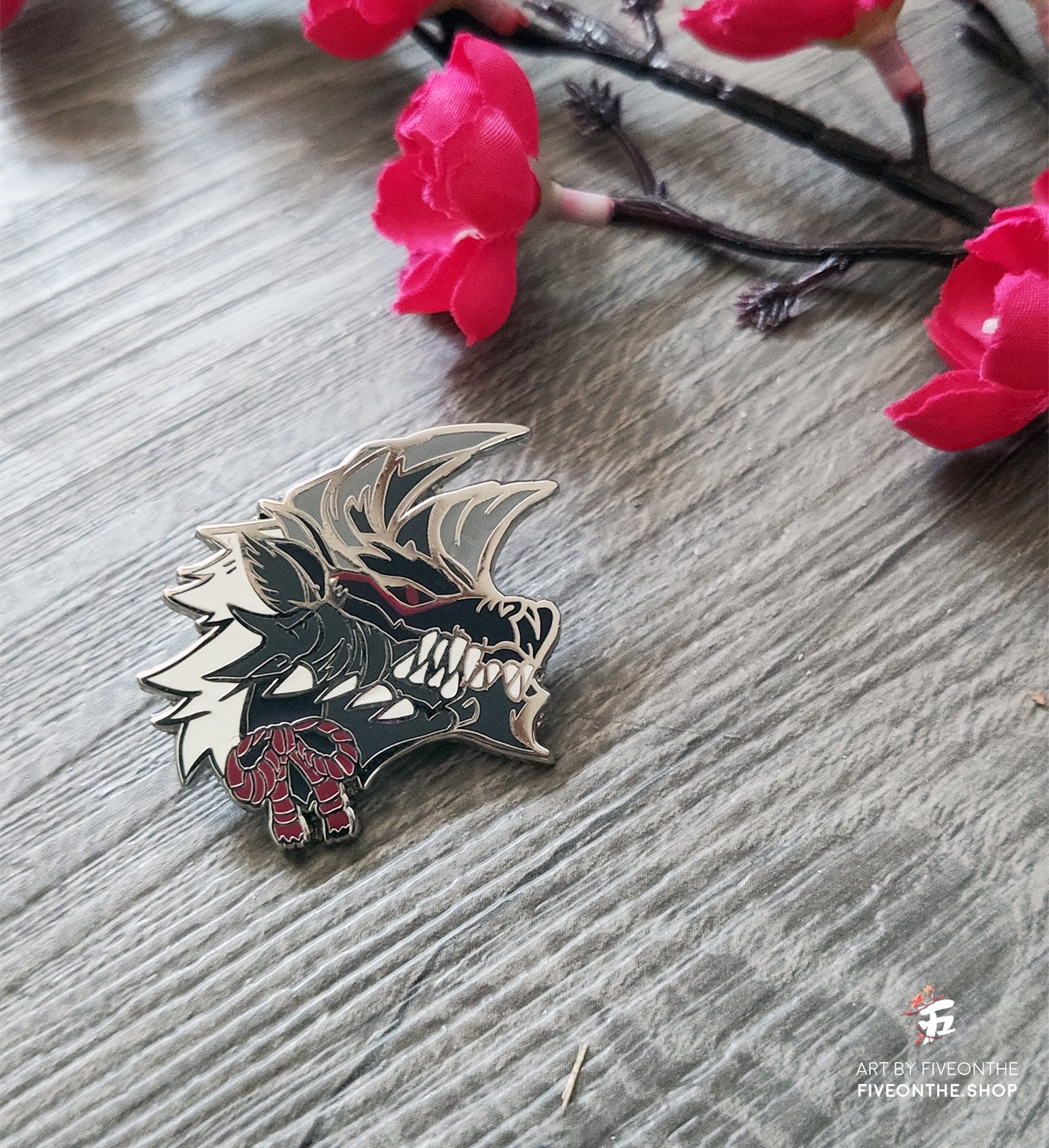 Stygian Zinogre ✦ Monster Hunter Enamel Pin