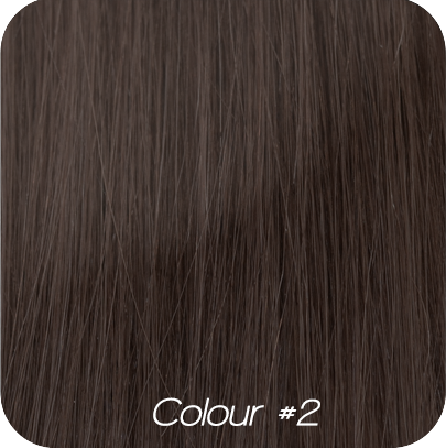 "Tape Hair Extensions - #1b - Darkest Brown 50cm/20"" - Euro Grade - 20 pieces"