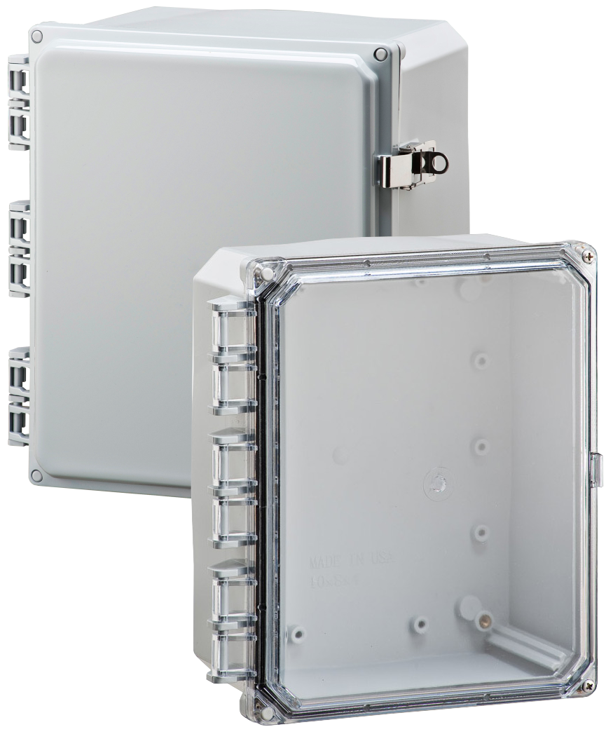 Integra Polycarbonate NEMA4x Enclosure with clear cover