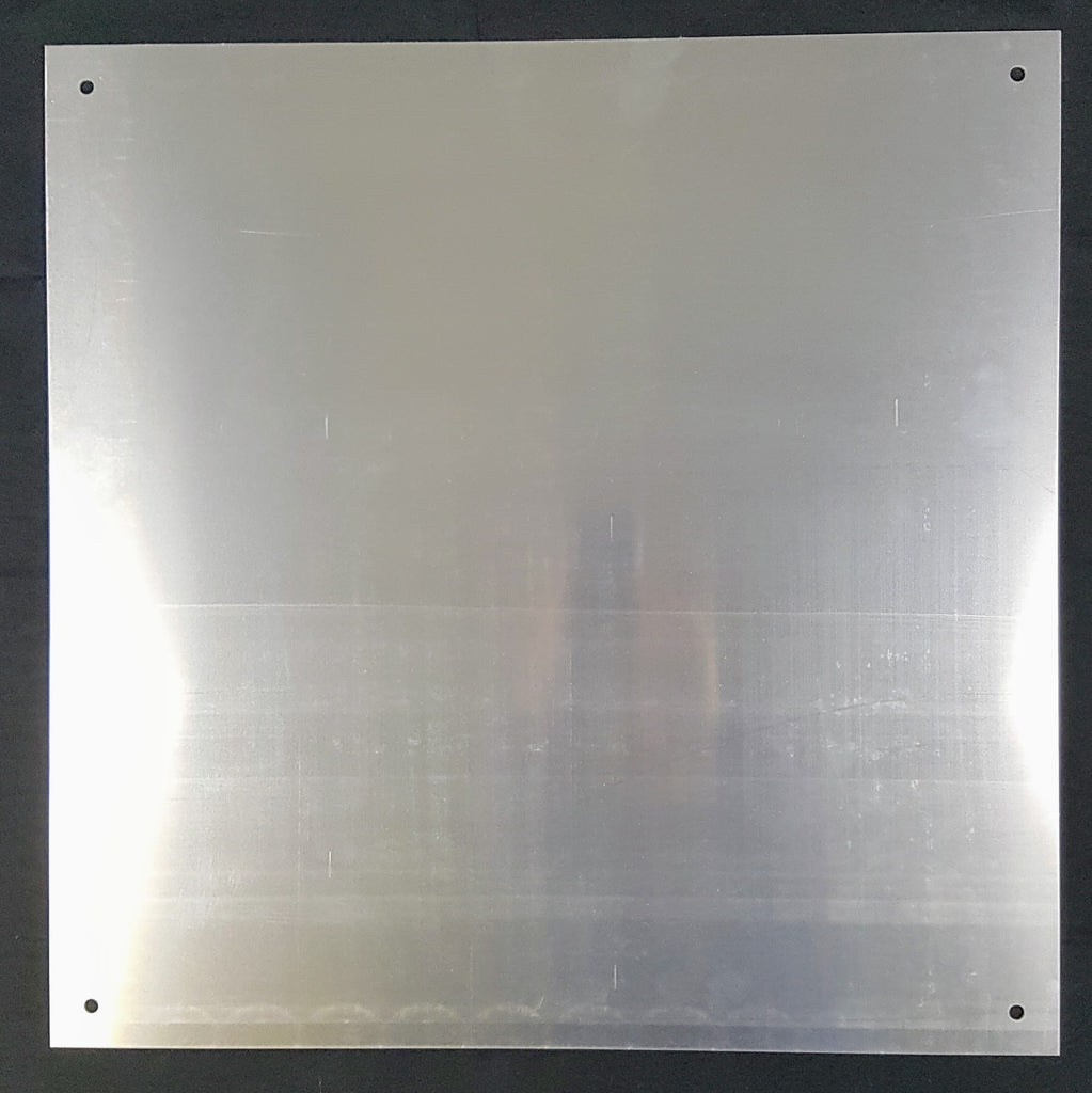 "Integra Aluminum Backpan for 24""x24"" enclosure"
