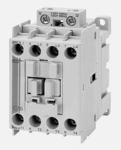 S+S Lightning Contactor 30A 4Pole 4NO 120VAC