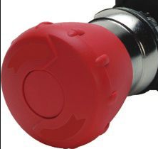 S+S Push Button, Emergency Stop, Red, Twist Reset, 40mm Top