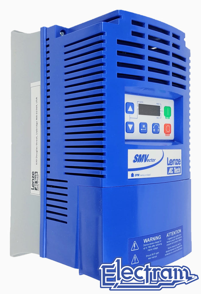 Lenze AC Tech VFD - 7.5HP - 480v - 3 phase input - NEMA1 Indoor - Variable Frequency Drive