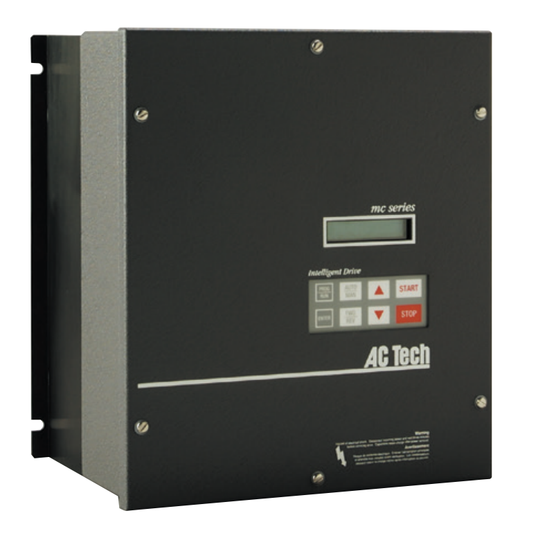 Lenze AC Tech VFD - 1HP - 208v / 240v - Single phase input - NEMA1 - Variable Frequency Drive