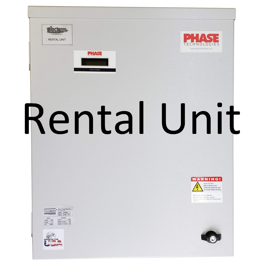 Digital Converter, 20 HP, 55 Amp - Daily Rental