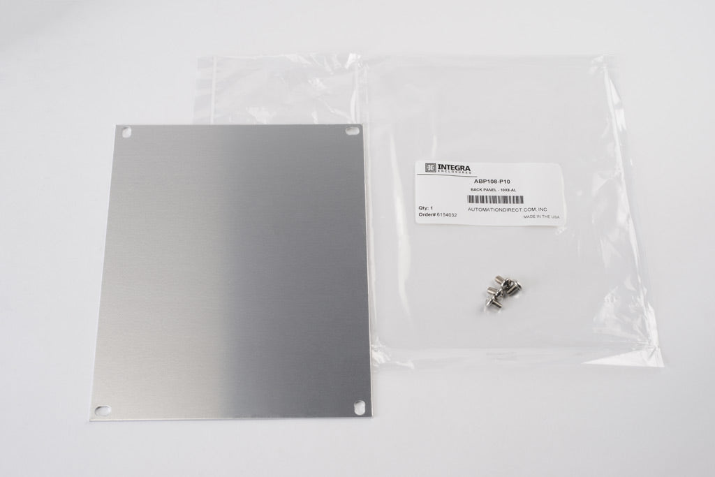"Integra Aluminum Backpan for 10""x8"" enclosure"