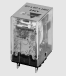 Carlo Relay, 1 Pole, 8 Pin, 12v DC, 75mA