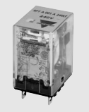 Carlo Relay, 1 Pole, 8 Pin, 24v DC, 36.9mA