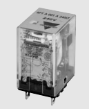 Carlo Relay, 1 Pole, 8 Pin, 120v AC, 10mA