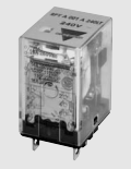 Carlo Relay, 1 Pole, 8 Pin, 24v AC, 50mA