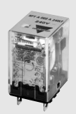 Carlo Relay, 2 Pole, 8 Pin, 12v DC, 75mA