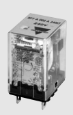 Carlo Relay, 2 Pole, 8 Pin, 120v AC, 10mA