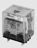 Carlo Relay, 3 Pole, 11 Pin, 220v AC, 7.7mA