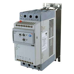 Carlo Soft Starter, 3 Phase Control, 37A, 220-600VAC, 100-240VAC Control, Integrated Overload