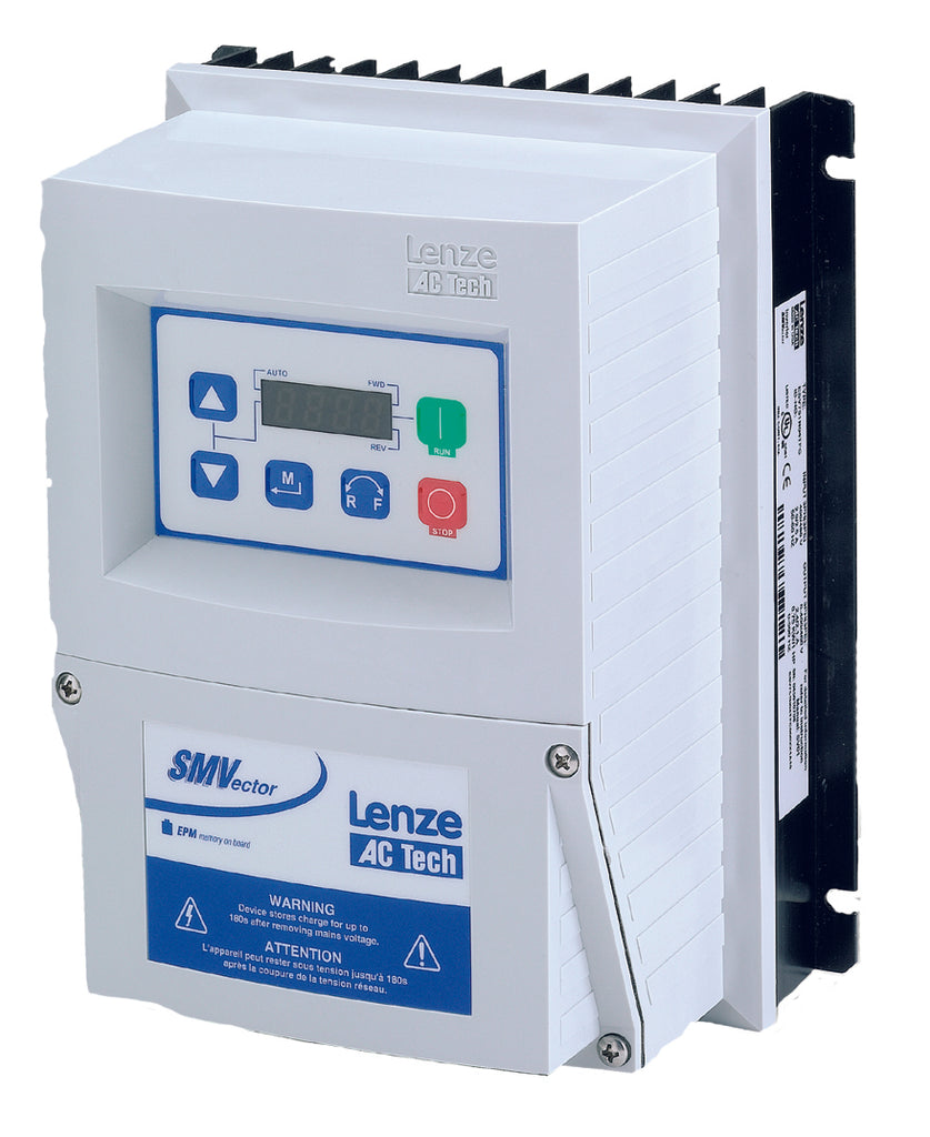 Lenze AC Tech VFD - 1HP - 200-240v - Single or 3 phase input - NEMA4x Indoor Washdown