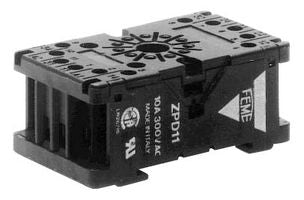 IDEC base for relays and timers, 11 Pin, Screw