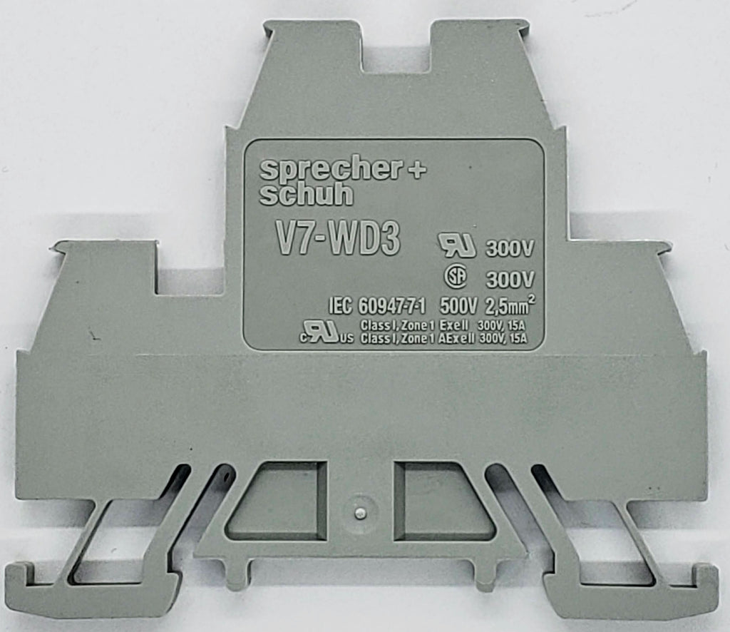 S+S Terminal Block, double stacked, 2 circuit