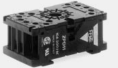 Carlo Base for RCP8002 Relays or FAA Timers, 8 Pin, Clamp