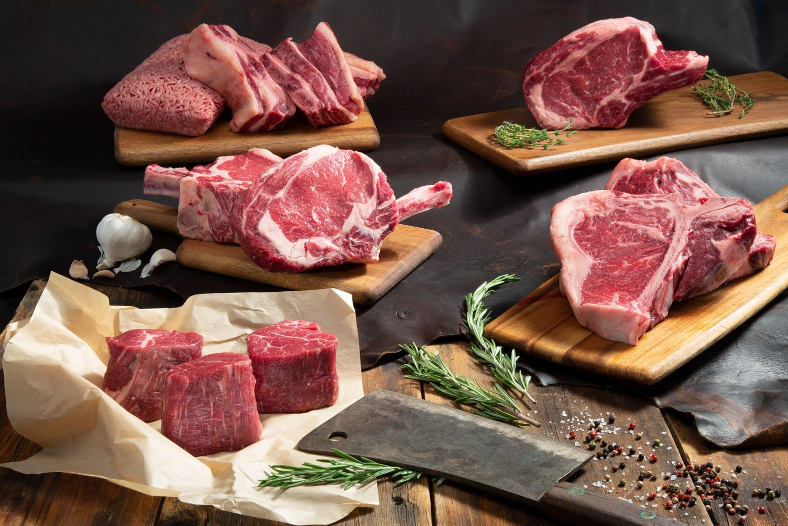 Whole, half and quarter beef for sale  - ProsperMeats com