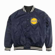 Load image into Gallery viewer, G's Up Varsity Bomber Jacket (Navy)