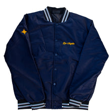 Load image into Gallery viewer, LA 96 Varsity Bomber Jacket (Navy)