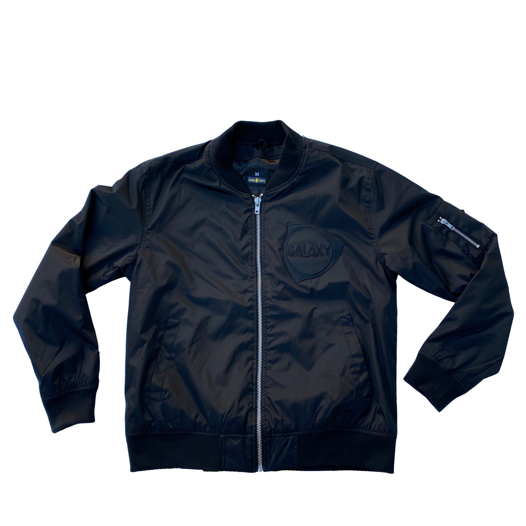G's Up Bomber Jacket (Triple Black)