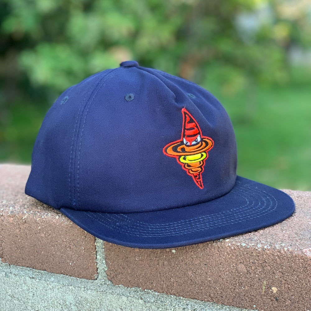 Twizzle 5-Panel Hat - Navy