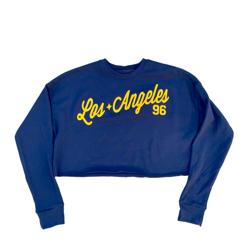 Los Angeles Fleece Crop Top PRE-ORDER