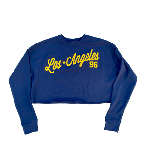 Los Angeles Fleece Crop Top