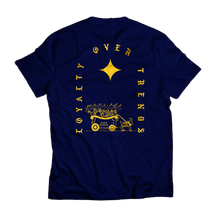 Load image into Gallery viewer, Loyalty Over Trends Tee (navy)