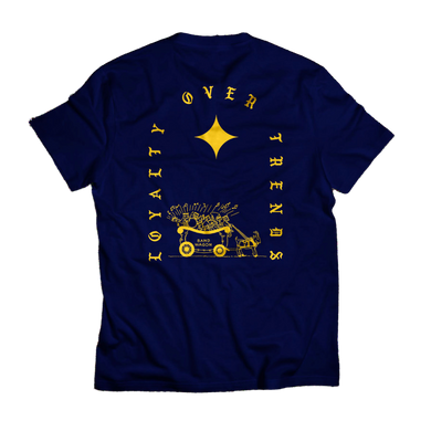 Loyalty Over Trends Tee (navy)