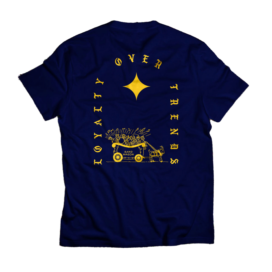 Loyalty Over Trends Shirt (navy)