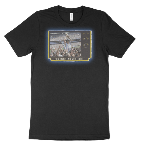 Maradona Legends Never Die Tee