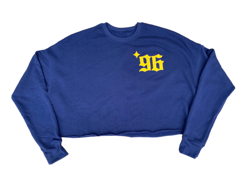 Ladies LA96 Fleece Crop Top