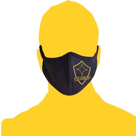 Crest Face Mask - Navy
