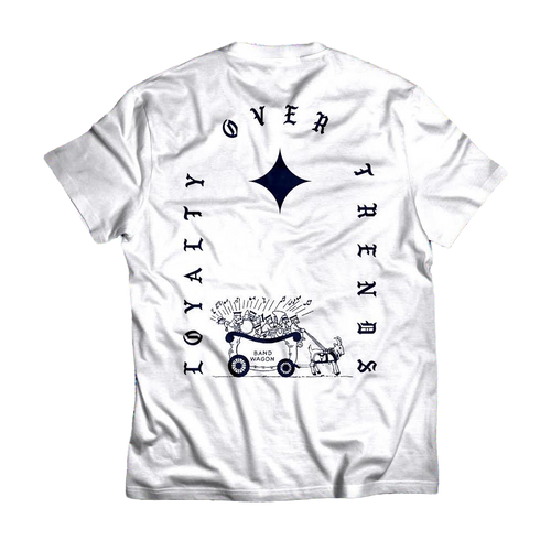 Loyalty Over Trends (white) Tee