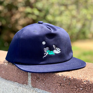 Scorpion 5-Panel Hat - Navy